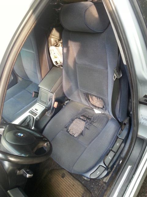 авто без чехлов на сиденья