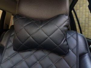 подушка из экокожи